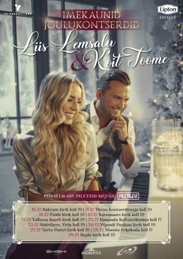 Koit Toome ja Liis Lemsalu jõulukontsert