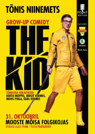 TÕNIS NIINEMETS grow-up comedy ''THE KID''